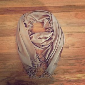 Camel colored scarf