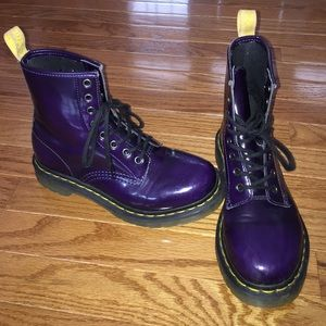 62 dr martens shoes shiny leather doc martens from