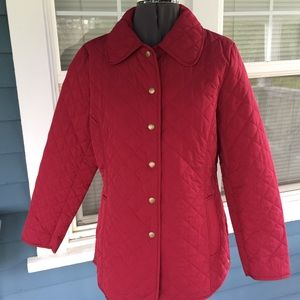 Appleseed's Jackets & Blazers - 🍎APPLESEED'S Red Quilted Jacket