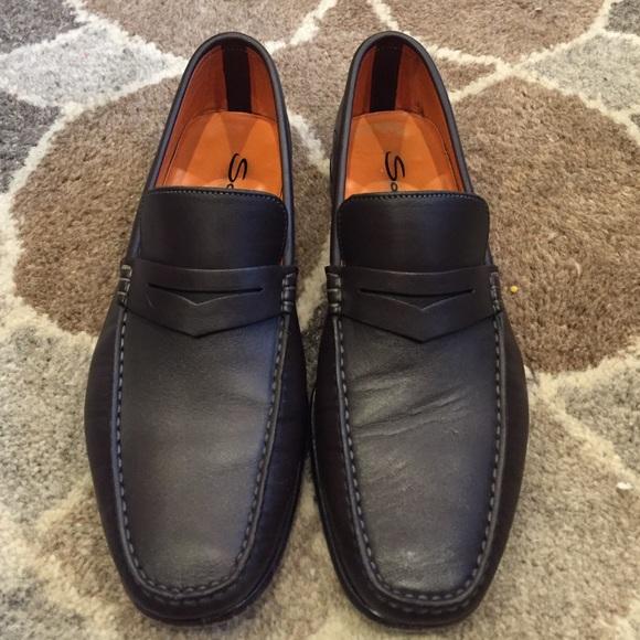 santoni Leather Mocassins I2SFAtUlcU