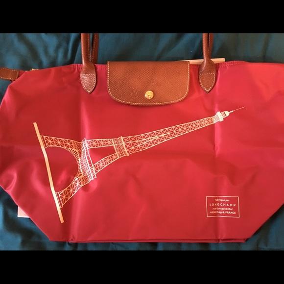 Longchamp Eiffel Laukku : Off longchamp handbags le pliage eiffel