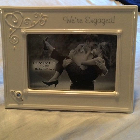 Other 4x6 Picture Frame That Says Were Engaged Poshmark
