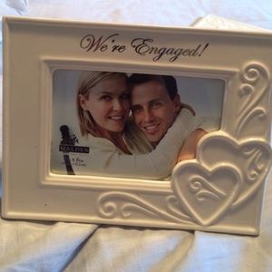 Other 4x6 Were Engaged Picture Frame Poshmark