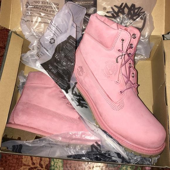 Baby Pink Light Pink Timberlands | Poshmark