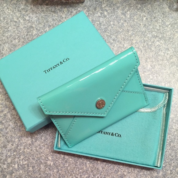 a38c65e36b Tiffany & Co. Accessories | Tiffany Co Card Holder | Poshmark