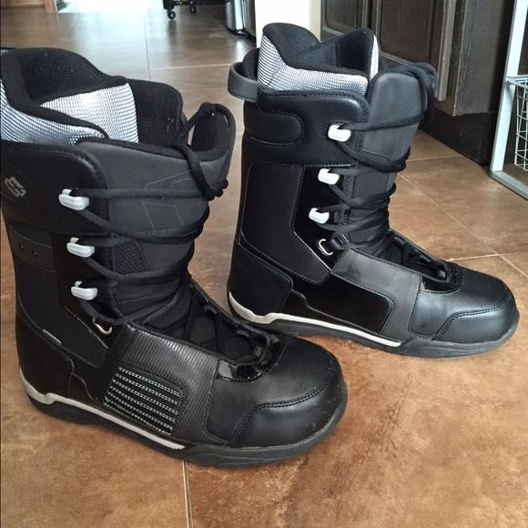 Snowboard Boots Black