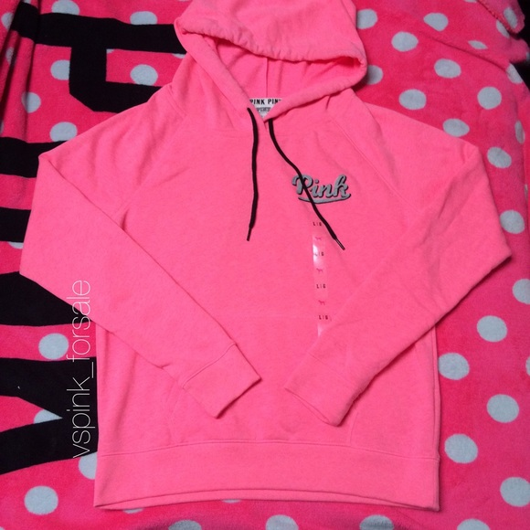 PINK Victoria's Secret - SOLD 🎀 VS PINK Perfect Pullover Hoodie ...