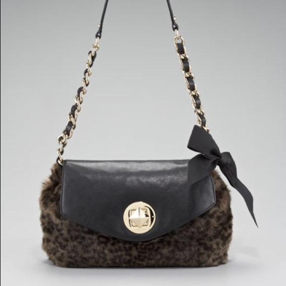 3e426b4002 kate spade Handbags - Kate Spade Leopard Faux Fur