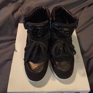 Michael Kors wedge sneakers