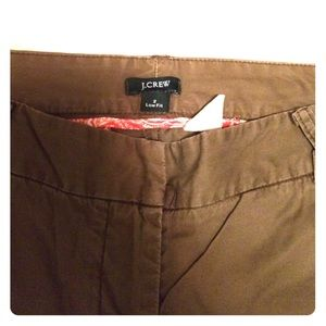 J. Crew Chinos - Low Fit - Size 2