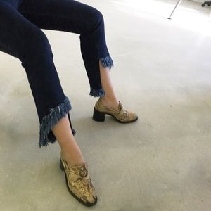 Freelance Classics Shoes - Vintage Python Skin Loafers