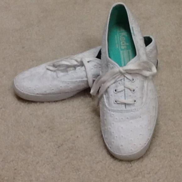 Keds Shoes | White Eyelet Lace Keds