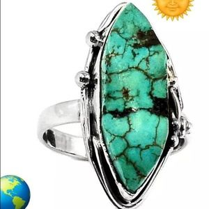 Jewelry - Native American style turquoise ring 925 SS