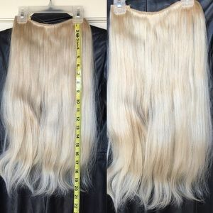 Local & Lace Halo Hair Extensions - #60 Violette