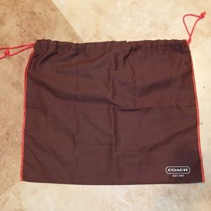 """Coach Handbags - Coach Small Dust Bag, 16"""" x 13.5"""""""
