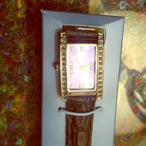 Brand New Avon Birthstone Watch