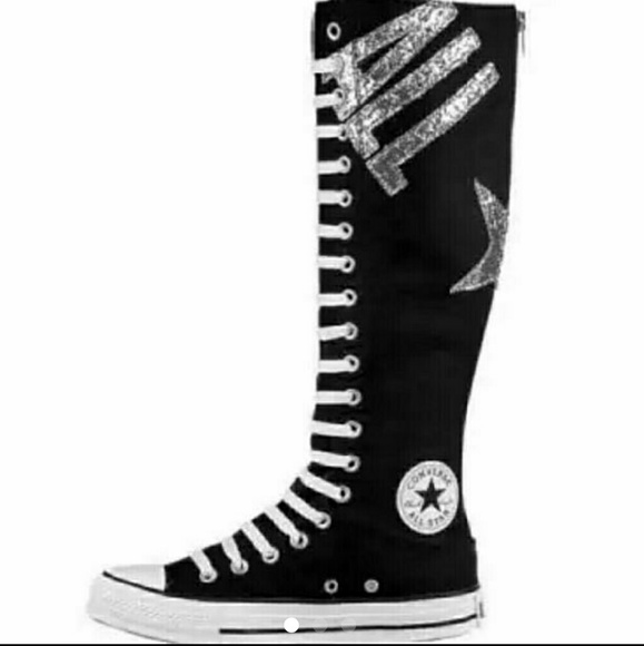 Converse Shoes - Converse tall zip up fashion sneakers! 1abf63919
