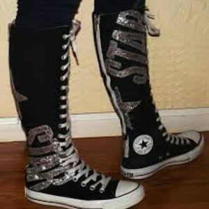 7b5b5e84085 Converse Shoes - Converse tall zip up fashion sneakers!