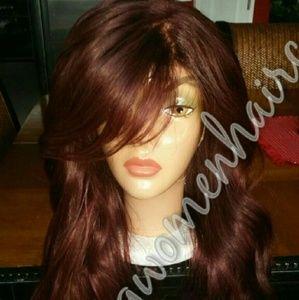 Brazilian body wave u part wig with closure