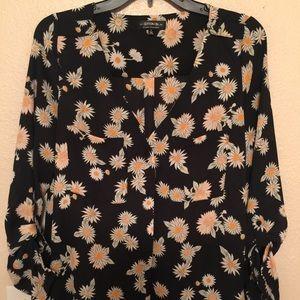 Cotton on sunflower button up!