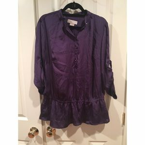 Purple Michael Kors blouse