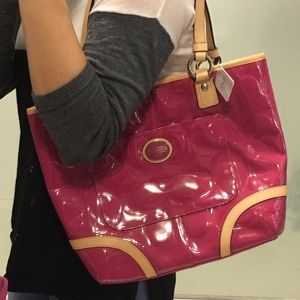 Additional pics of pink Coach purse