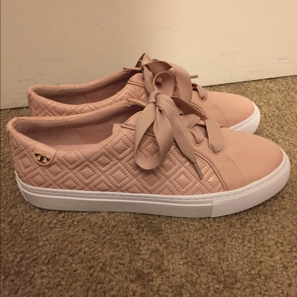 Tory Burch Marion Quilted Sneaker, Pink, 8.5