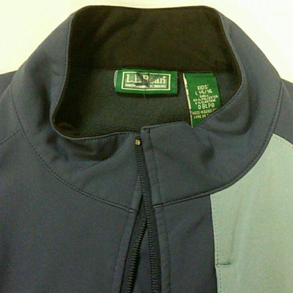 88% off L.L. Bean Jackets &amp Blazers - L.L. Bean blue fleece