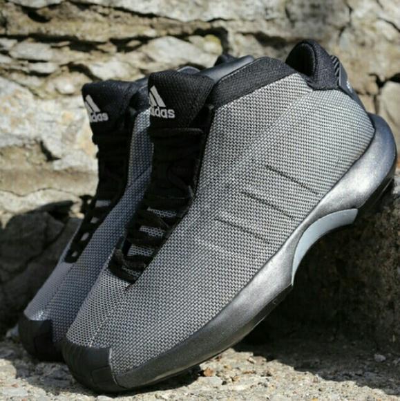 new arrival 40e32 3e677 Adidas Shoes - Adidas Crazy 1 Black Metallica Silver Kobe Bryant