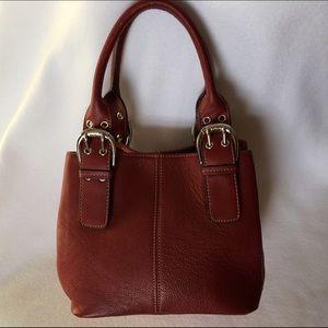 Tignanello Handbags - TIGNANELLO Leather Perfect 10 French Tote Handbag
