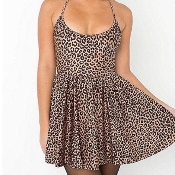 American Apparel Dresses   Skirts - Nylon tricot figure skater dress 5cae3e8ad