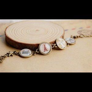Jewelry - Paris Eiffel Tower Vintage Bracelets