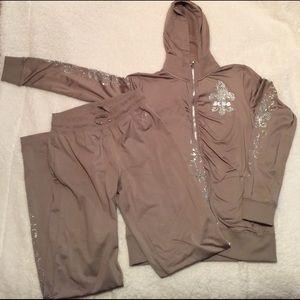 BCBG MAXAZRIA jacket and pants
