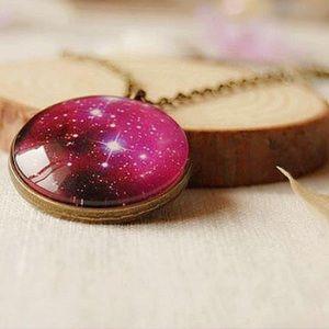 Jewelry - Universe galaxy pendant necklace