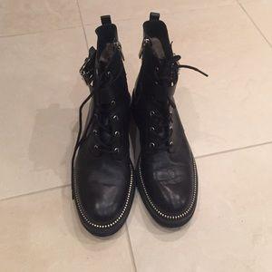 MICHAEL Michael Kors Shoes - Michael kors combat boots