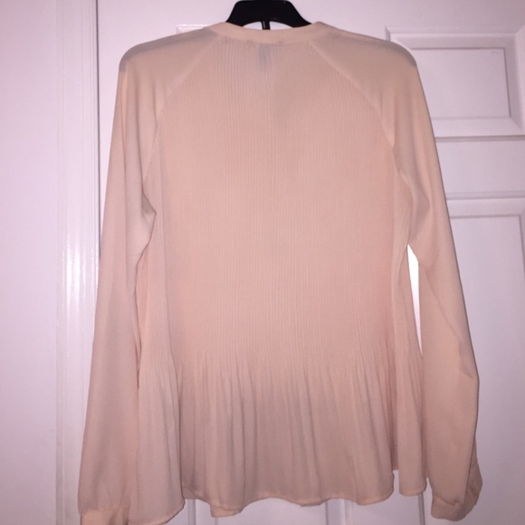 71 off forever 21 tops light pink blouse button down for Pastel pink button down shirt