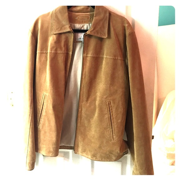 7fec3dc10 Wilsons Leather suede jacket