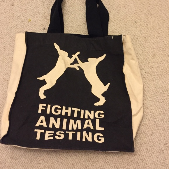 72fdc121bd Lush Handbags - Lush fighting animal testing bag