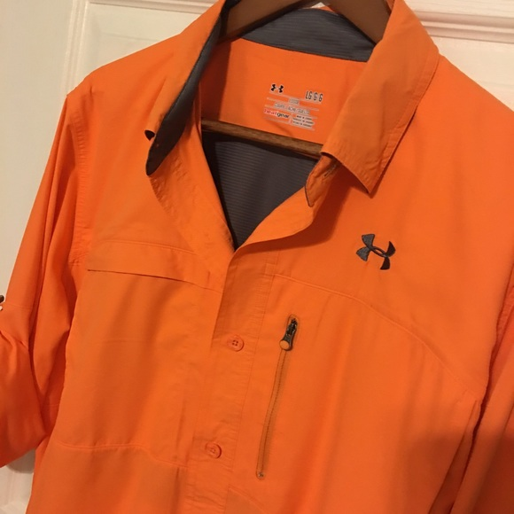 63 off under armour other under armor fishing shirt for Under armor fishing shirt