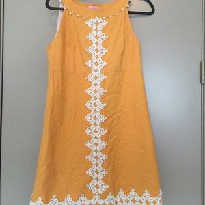 Orange Lilly Pulitzer dress