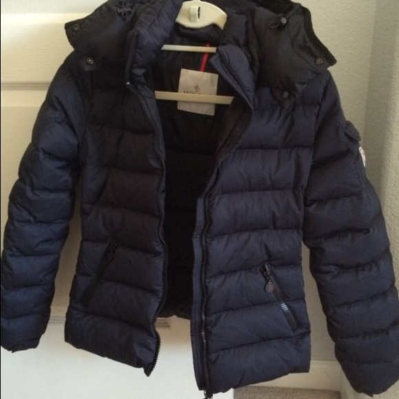 Moncler Bady matt Navy puffer down Jacket 0