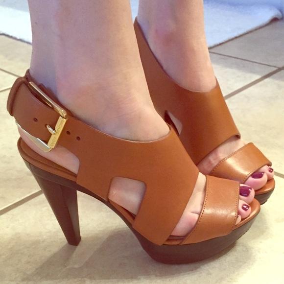 bc70c7f3bc81 Michael Kors Carla platform sandal