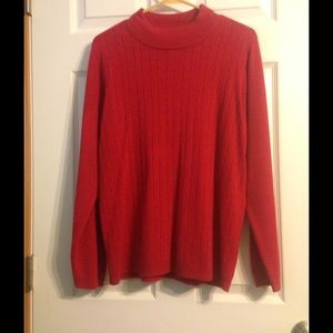 Allison Daley Sweaters - Warm red sweater!!