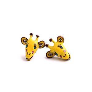 Jewelry - 👍Host Pick👍Cute yellow giraff earrings