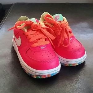 Baby Girl Nike Air Force Ones LIMITED EDITION