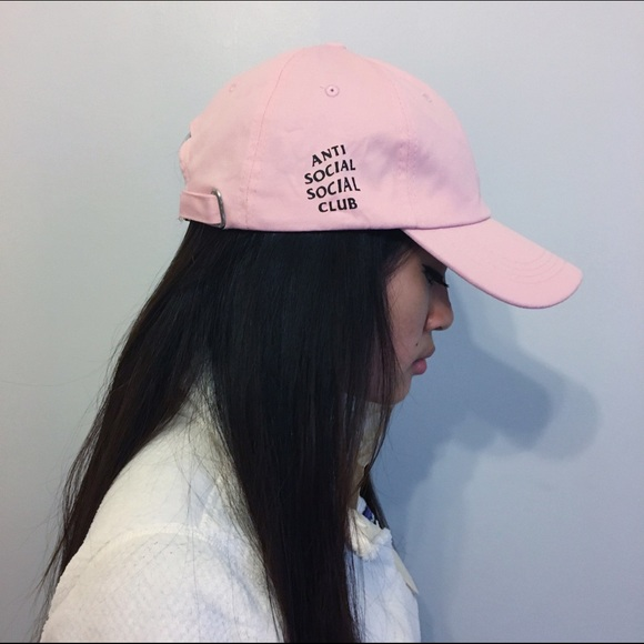 05ac27bf8201 Accessories - pink anti social social club STYLE hat