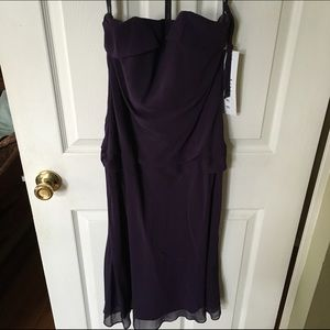Bill Levkoff Dresses & Skirts - Bill Levkoff Bridesmaid Dress sz 4 plum