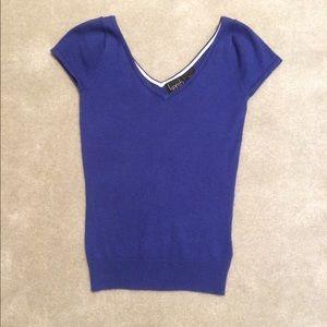  Kersh Purple Knit Top