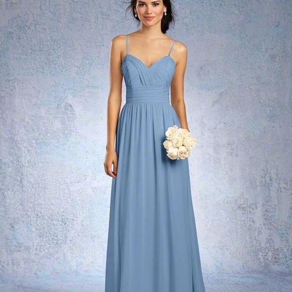 Alfred Angelo Dresses | Light Blue Formal Dress Worn Once Size 10 ...