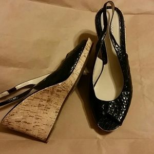 Mossimo Supply Co. Shoes - Snake print wedges